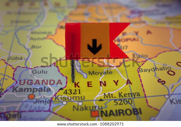 Pin Kenya On Map Africa Stock Photo (Edit Now) 1088202971 on vietnam on map, lesotho on map, cape verde on map, china on map, guatemala on map, somalia on map, liberia on map, new zealand on map, mozambique on map, brazil on map, libya on map, morocco on map, africa on map, sudan on map, eritrea on map, korea on map, ghana on map, japan on map, malawi on map, malaysia on map,