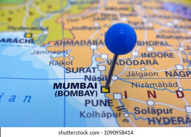 Bombay Map Stock Photos Images Photography Shutterstock