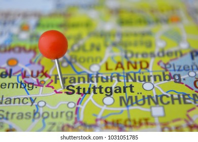 Stuttgart Map Images Stock Photos Vectors Shutterstock