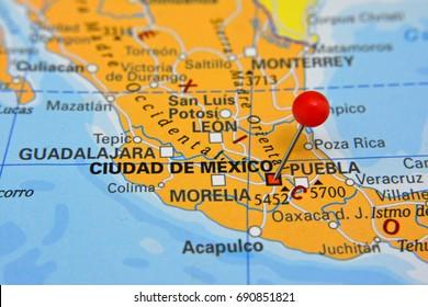 Pin marking in Cidade de México