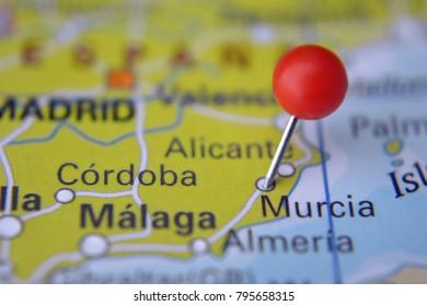 Murcia Map Of Spain.Murcia Map Images Stock Photos Vectors Shutterstock