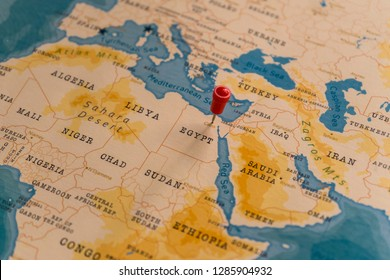 Cairo In World Map Stock Photos Images Photography Shutterstock