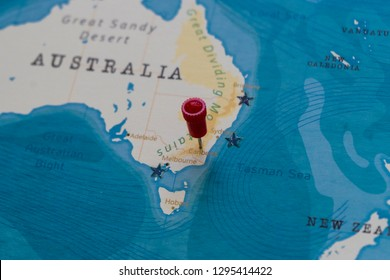 Canberra Australia World Map Images Stock Photos Vectors