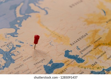 Map Pin Moscow Images Stock Photos Vectors Shutterstock