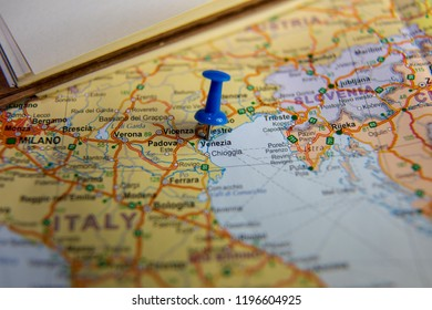 Map Of Italy And Neighbouring Countries.Imagenes Fotos De Stock Y Vectores Sobre Vatican Map Pin Shutterstock