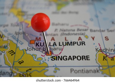 Pin in Singapore, Southeast Asia