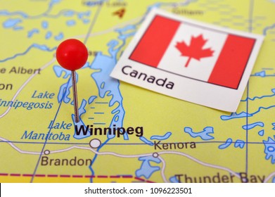Winnipeg On Map Of Canada.Winnipeg Map Images Stock Photos Vectors Shutterstock