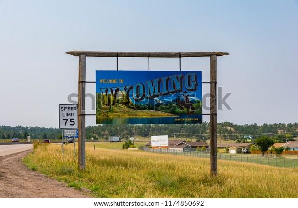 Pine Bluffs Wy >> Pine Bluffs Wyoming United States August Stock Photo Edit