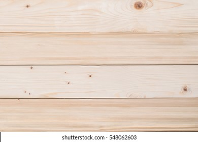 Pine wood texture background top view from above in light cream color