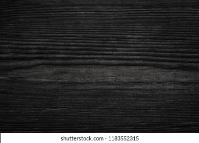 Pine wood texture. Black  background.