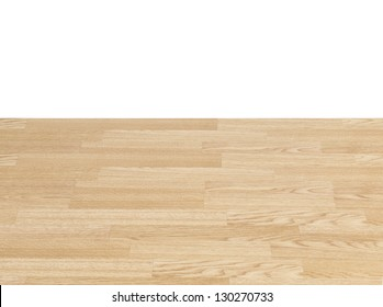 Pine Wooden Tabletop with Horizon Clipping Path