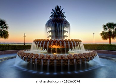 Pineapple Fountain, Charleston South Carolina