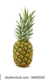 Pineapple, isolated