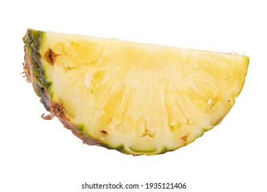 Pineapple isolated on white background. Clipping path