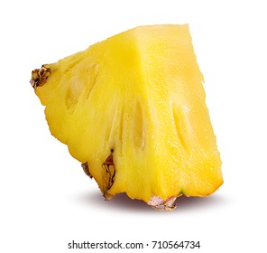Pineapple isolated on white Clipping Path