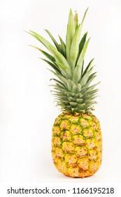 Pineapple isolated  in white background.