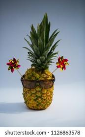 pineapple on pool