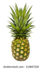 Pineapple on a white background.