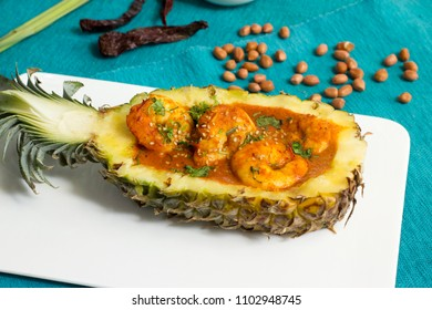 Pineapple prawn curry is a light and refreshing tiger prawn curry which is very easy to make and it really does taste exotic and unusual.