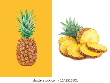 pineapple slices wallpaper