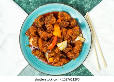 Pineapple Sweet and Sour Boneless Pork, Chinese Food