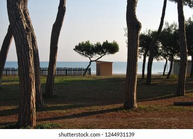 Pineto and the Cerrano's Tower, Teramo, Italia