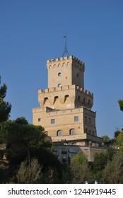 Pineto and the Cerrano's Tower, Teramo, Italy