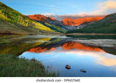Piney Lake at Sunset
