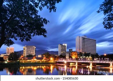Ping River Chiang Mai Thailand 2013