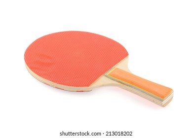 ping-pong rackets  isolated on white background