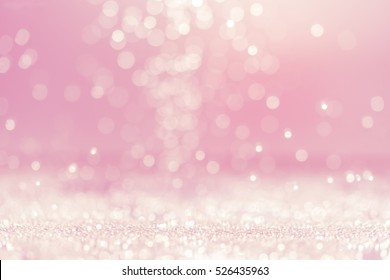 Pink Abstract bokeh background - Shutterstock ID 526435963