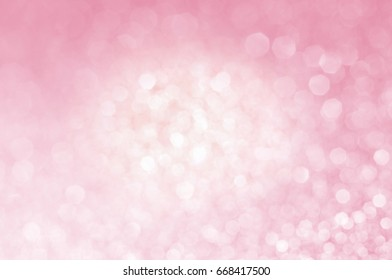 pink abstract bokeh light shines background