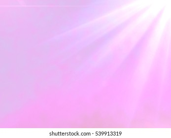 pink abstract celestial flare background