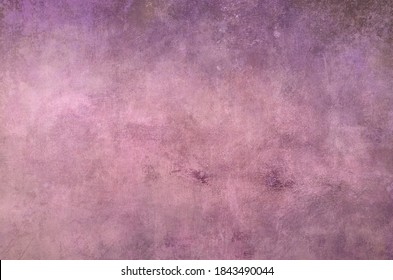 Pink abstract painting grungy background or texture