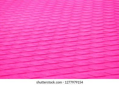 Pink aligned surface background and texture