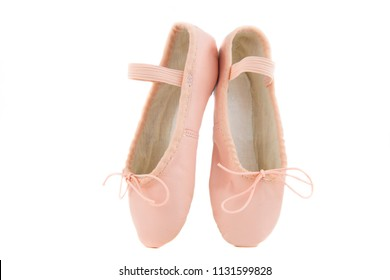 pink baby shoes for learning to dance