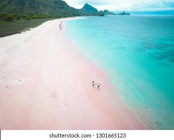 Pink Beach, Komodo National Park, Fores Island, East Nusa Tenggara, Indonesia