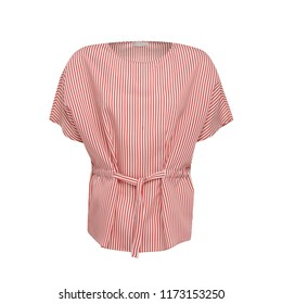 Pink blouse isolated