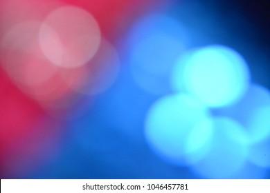 pink and blue bokeh blur
