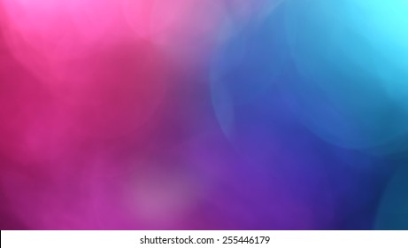 pink and blue out of focus abstract background