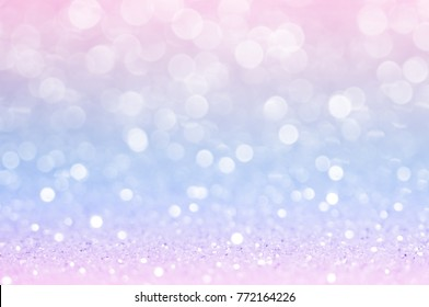 Pink blue, purple bokeh,circle abstract light background,Pink gold shining lights, sparkling glittering Valentines day,women day or event lights romantic backdrop.Blurred abstract holiday background.