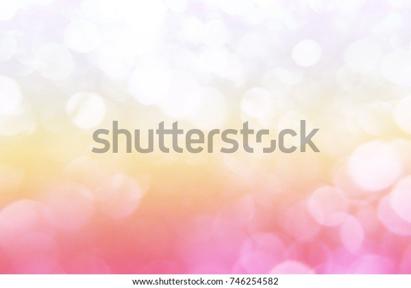 Pink bokeh background, Elegant abstract background with sweet colorful bokeh defocused  for texture. concept valentine day