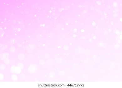 pink bokeh light background