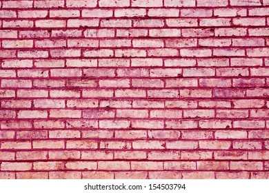 pink brick abstract texture background