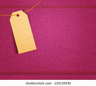 Pink Clothes Label