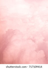 pink cloud sky abstract background