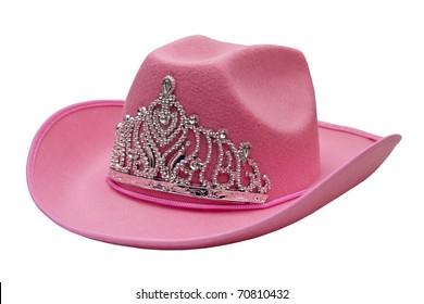 PINK - NEW - LADIES   FLOWER SEQUIN WESTERN COWBOY HAT