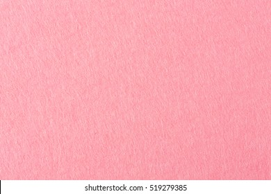 Pink felt texture for background.