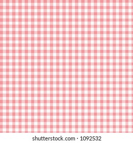 Pink Gingham with slight fabric texture