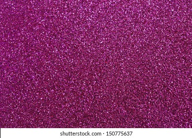Pink glitter for texture or background